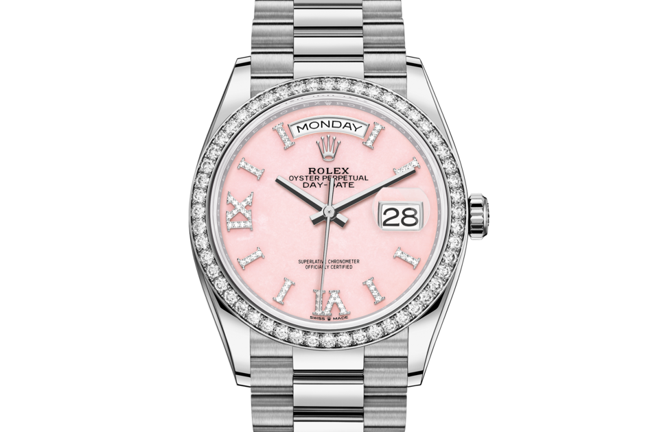Rolex Day-Date 36 M128349RBR-0008 Day-Date 36 M128349RBR-0008 Watch Front Facing