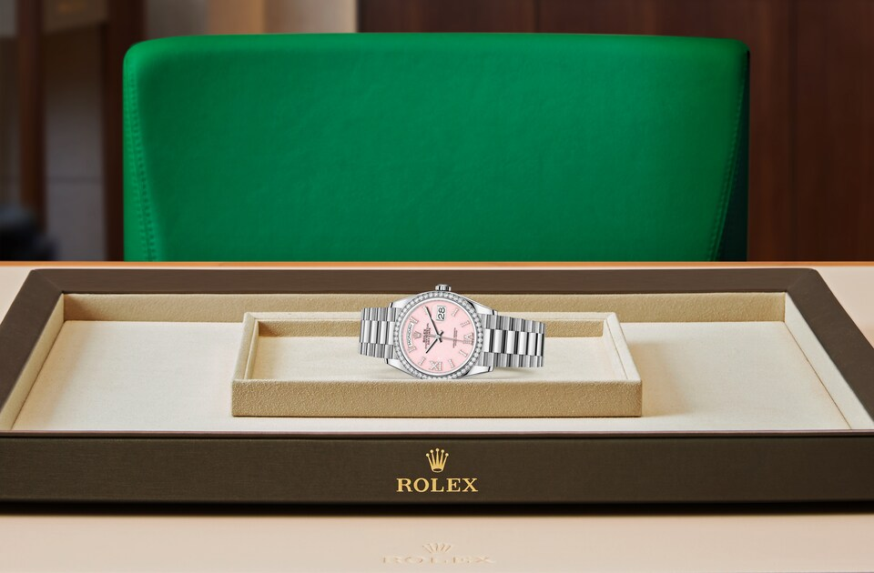 Rolex Day-Date 36 M128349RBR-0008 Day-Date 36 M128349RBR-0008 Watch in Tray