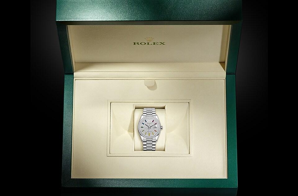 Rolex Day-Date 36 M128349RBR-0012 Day-Date 36 M128349RBR-0012 Watch in Presentation Box