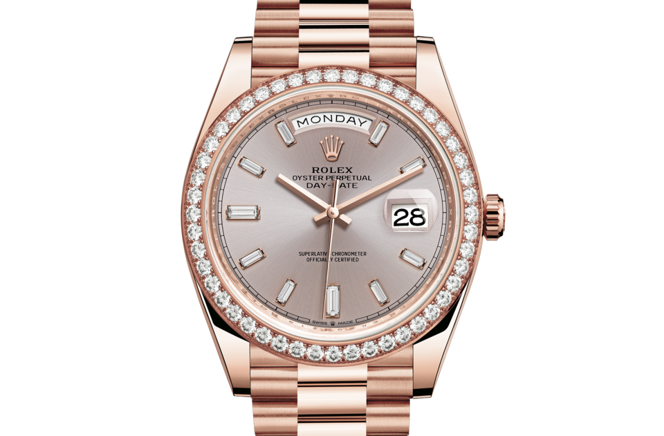Rolex Day-Date 40 M228345RBR-0007 Day-Date 40 M228345RBR-0007 Watch Front Facing