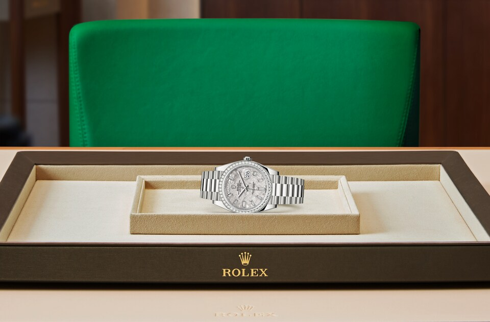 Rolex Day-Date 40 M228349RBR-0040 Day-Date 40 M228349RBR-0040 Watch in Tray