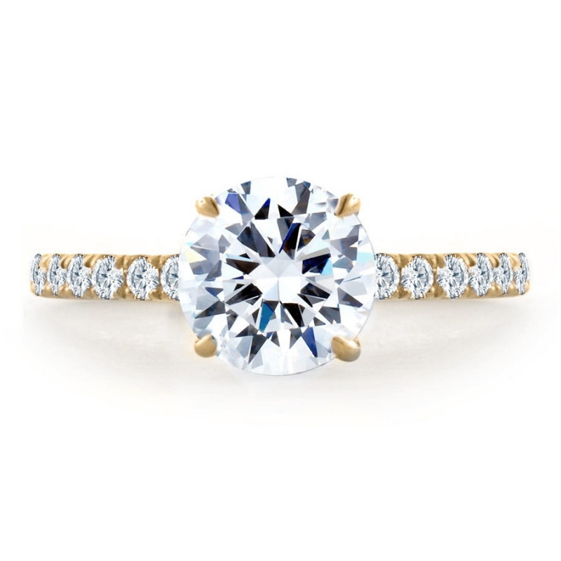 A. Jaffe Diamond Engagement Ring Setting