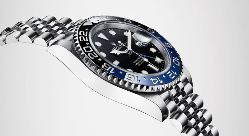 Rolex GMT-Master II on Jubilee Bracelet with Calibre 3285 Movement