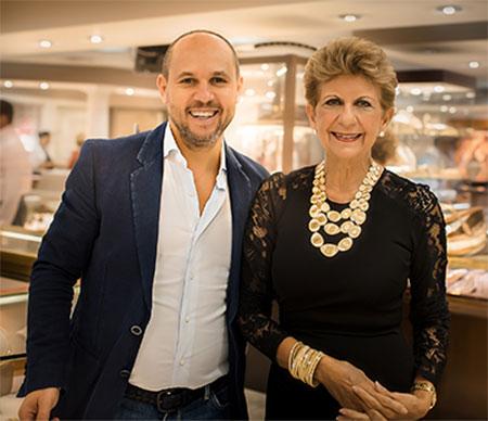 Ann Marie Dunn and Marco Bicego