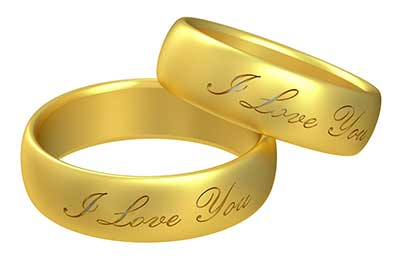engraving a special message inside of yours and your partners wedding bands is a lovely way to add sentimental value some jewelers only offer machine - Wedding Ring Engraving Ideas