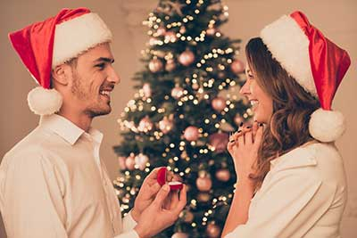 Love the Holiday Season to Propose