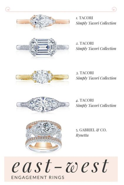 Directionally Chic Tacori Engagement Ring Styles