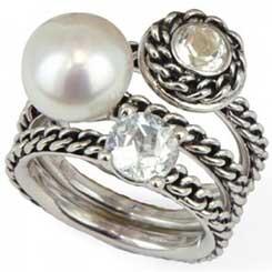 Honora Pearl Rings