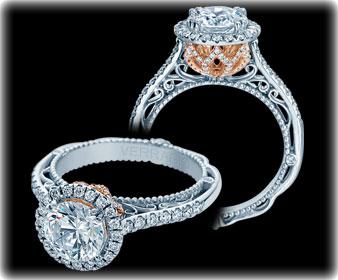 Verragio Halo Engagement Rings