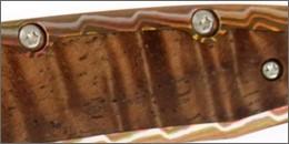 Knife Scale made from Koa