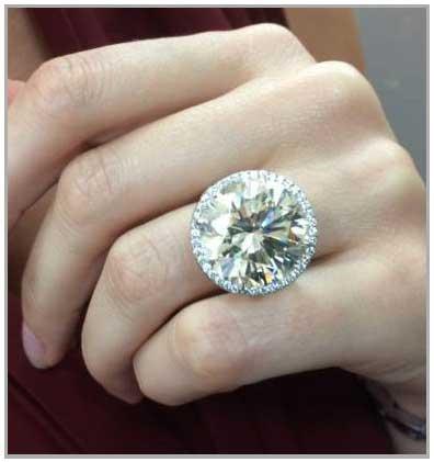 Biggest Engagement Ring