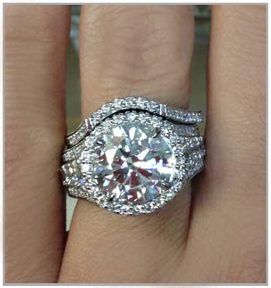 Large Round Diamond
