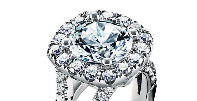 Tacori Petie Crescent Diamond RIng
