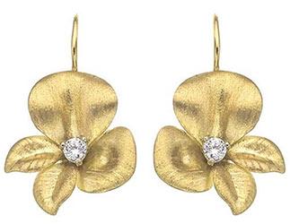Roberto Coin Fiore Earrings
