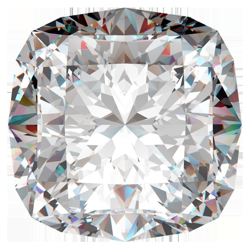 2.01 Carat Cushion Diamond / J / SI2