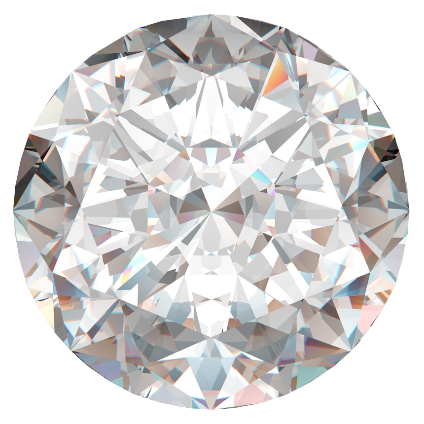 1.09 Carat Round Lab Grown Diamond / I / VS1